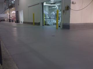 floor protection under food processing area