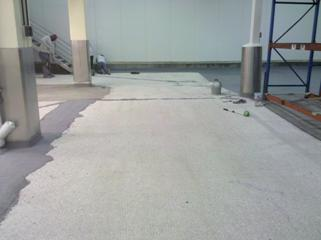 floor protection in powder food company