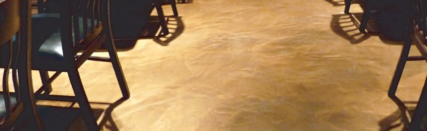 marbaleized concrete floor appearance