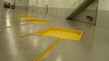 concrete floor protection in manufacturing after