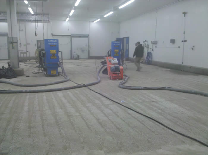 scarify industrial concrete floor